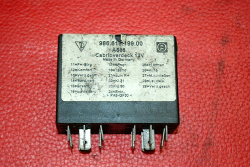 Porsche 986 Boxster Convertible Top Control Relay 2000-2004 98661819900 OEM