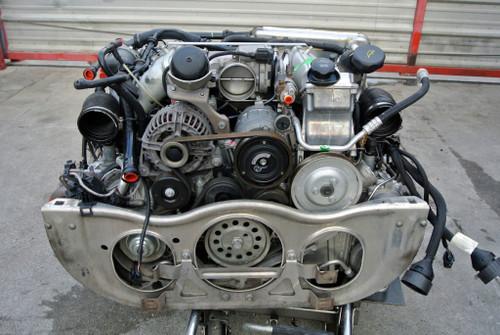 PORSCHE 997 911 TURBO 3.6L TWIN TURBO MOTOR ENGINE ASSY W/ IPD 82MM PLENUM (31K)