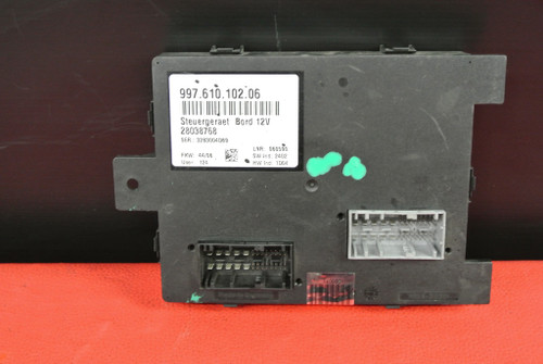 PORSCHE 911 997 987 BOXSTER CAYMAN BODY CONTROL MODULE UNIT COMPUTER 99761010206