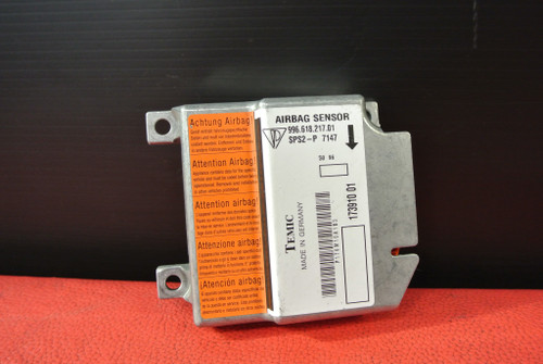 PORSCHE 911 996 986 BOXSTER AIRBAG CONTROL MODULE SENSOR UNIT ECU 99661821901