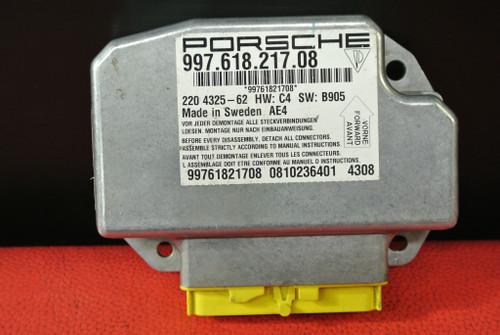 PORSCHE 911 997 987 BOXSTER CAYMAN AIRBAG CONTROL MODULE SENSOR UNIT 99761821708