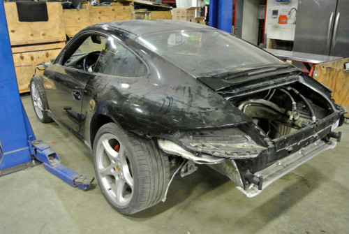 2007 Porsche 911 Carrera S 997 PROJECT ROLLING SHELL CHASSIS PROJECT SALVAGE