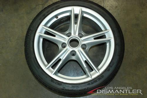 Porsche 987 Cayman Boxster S II Front Wheel Rim 8x18 ET57 987.362.137.02 OEM