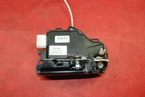 Porsche 997 987 911 Cayman Boxster Front Left Door Lock Actuator 95553101501 OEM