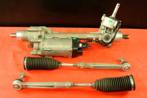 PORSCHE 911 991 ELECTRIC STEERING RACK AND PINION ASSEMBLY W/ TIE RODS OEM
