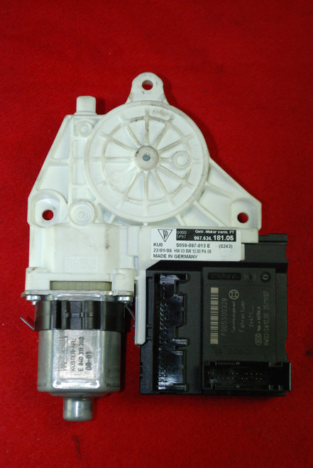 Porsche 911 997 Window Regulator Motor Left Driver side 997.624.181.05