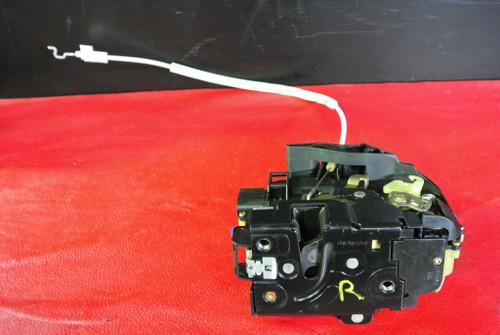 PORSCHE 911 996 TURBO GT2 RIGHT PASSENGER SIDE DOOR LOCK LATCH W/ CABLE OEM
