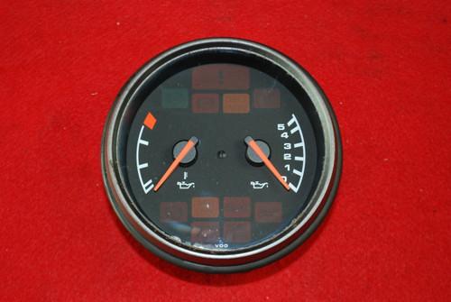 Porsche 911 993 VDO Oil Temp Pressure Gauge 94-98 993.641.103.02