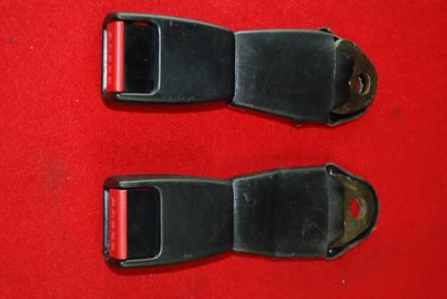 Porsche 911 78'-89' Rear Seat Belt Buckles Pair  477857739B