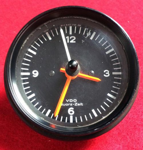 Porsche 911 930 Clock Gauge VDO 76-89 Factory Carrera SC Quartz Zeit