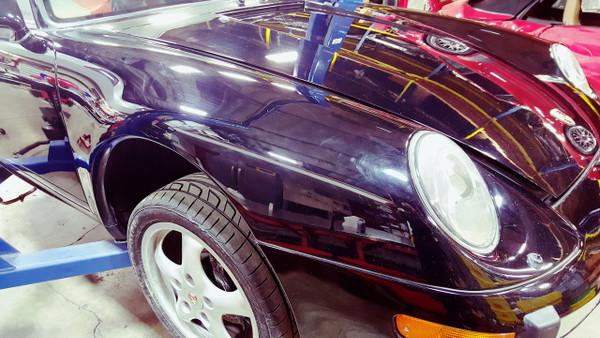 Porsche 993 911 Passenger Right Front Fender Exterior Narrow Body Assembly Panel