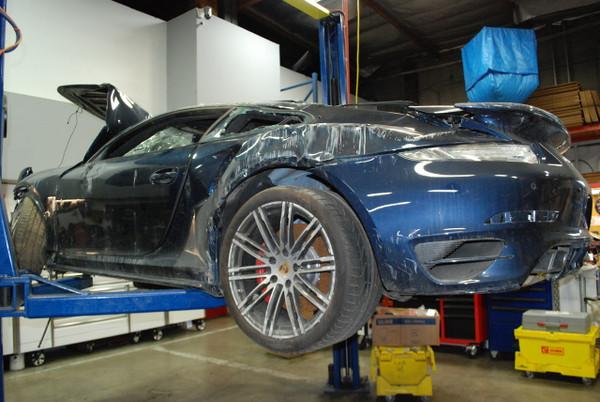 2015 Porsche 991 Turbo Blue
