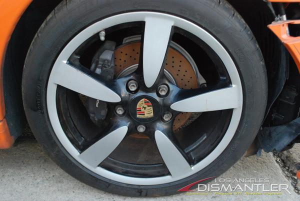 "Porsche 987 987c Boxster Cayman S One Front Wheel 18""Rim 8xET57 Factory OEM"