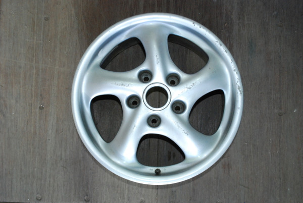 "Porsche 911 996 Wheel 9x17 ET55  99636212800 17"" Rim OEM"