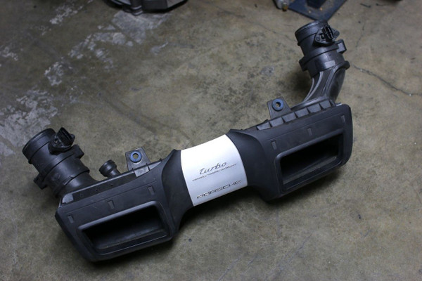 Porsche 911 997 Turbo Complete Air box Assembly Clean Assembly OEM 99711002173