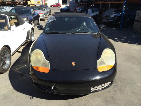 2001 986 Porsche Boxster Chassis Black