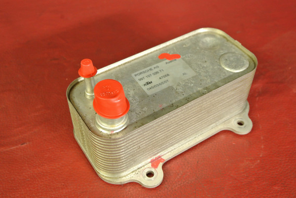 PORSCHE 911 997 TURBO 3.6L FACTORY OEM ENGINE OIL COOLER 99710702671 RIGHT