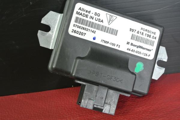 PORSCHE 911 997 TURBO ALL WHEEL DRIVE AWD CONTROL MODULE UNIT 99761819504