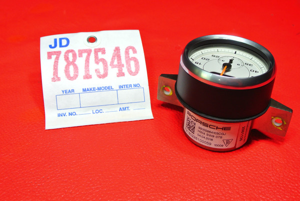 GENUINE PORSCHE 991 CHRONO CLOCK METER