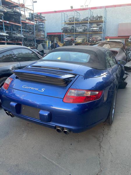 Porsche 2007 911 997 cabriolet blue