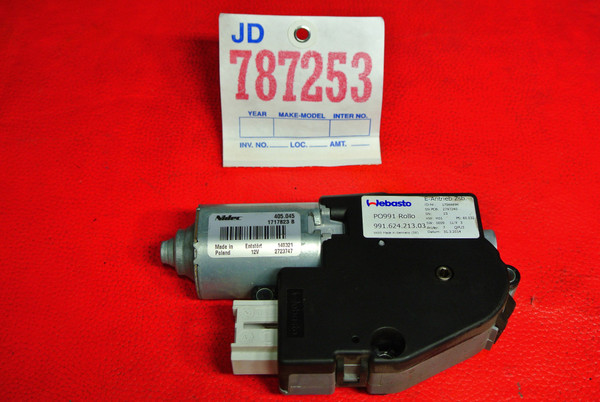 PORSCHE 2013 -2018 911 (991) SUNROOF MOTOR
