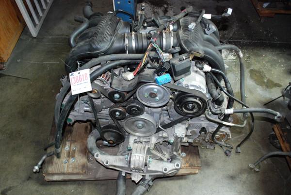 Porsche 986 Boxster 2.76L 2003-04 Complete Running Engine