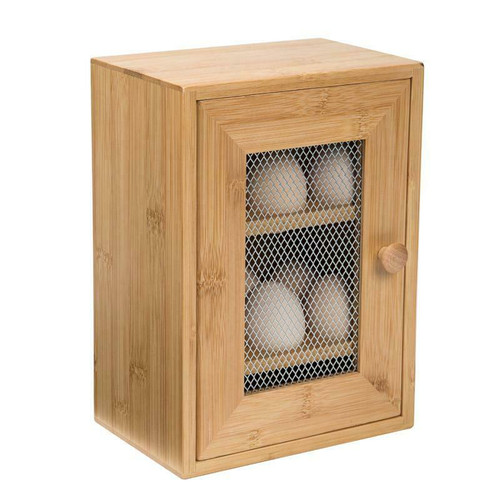 2 Tier Egg  Bamboo Cabinet