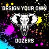 Custom Titan Dozer Bags - Set of 4