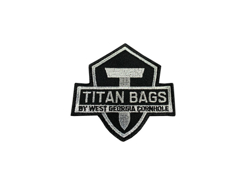Titan Bags Embroidered Velcro Patch