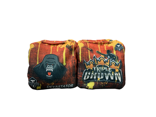 Triple Crown- Drip- Titan Devastator ACL PRO Approved Toss Bags - Set of 4