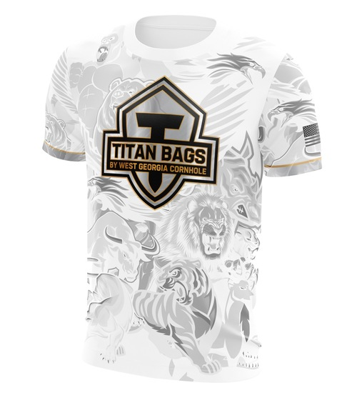 Titan Team Jersey: Beast Mode White- Powered by The Jersey Guy