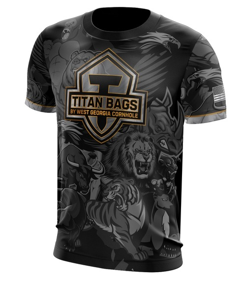 Titan Team Jersey: Beast Mode Black- Powered by The Jersey Guy