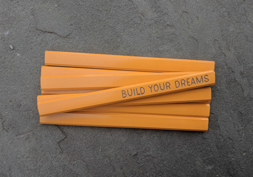 Build Your Dreams Carpenter Pencil