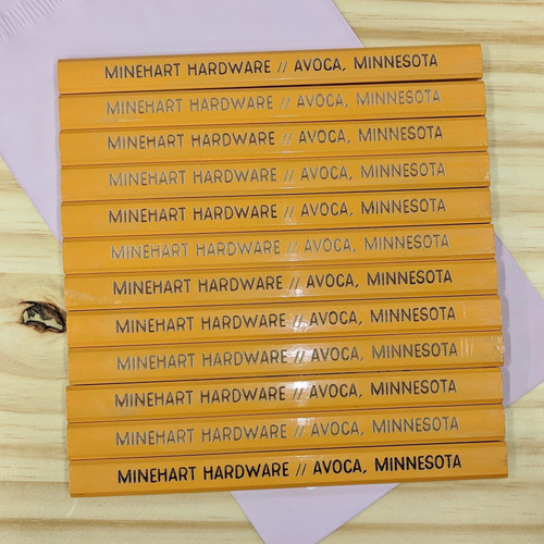 Personalized Carpenter Pencils