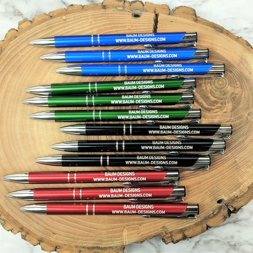 Personalized Metal Pens