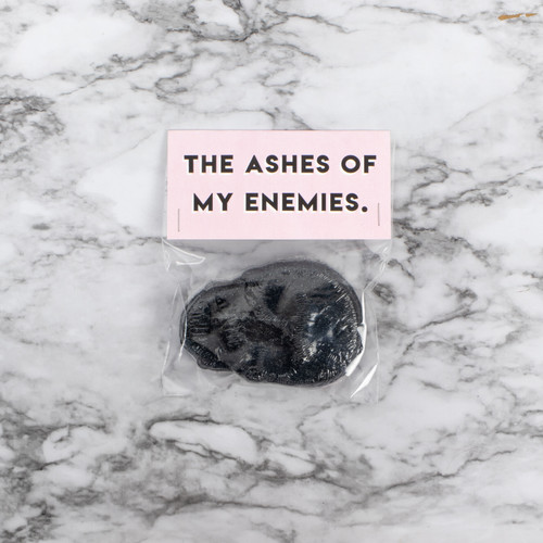 The Ashes Of My Enemies Skull Bath Bomb