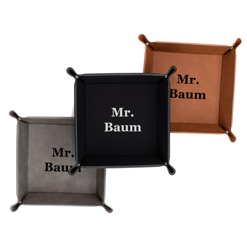 Personalized Mr Jewelry Ring Tray Keys Dish