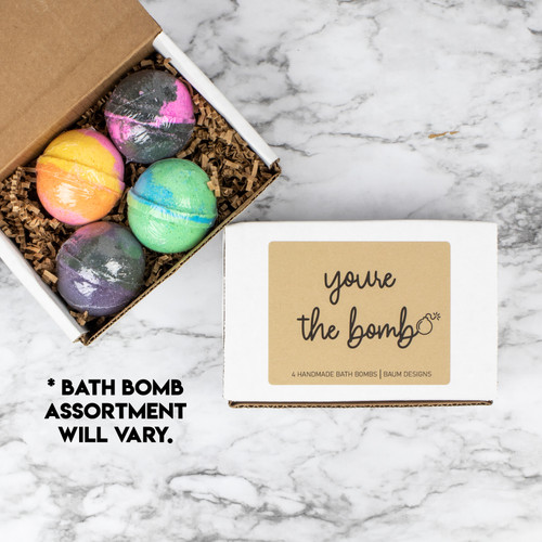 You're The Bomb Bath Bomb 4pc Set