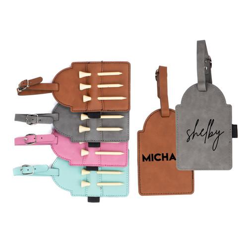 Personalized Golf Bag Tag Baum Designs