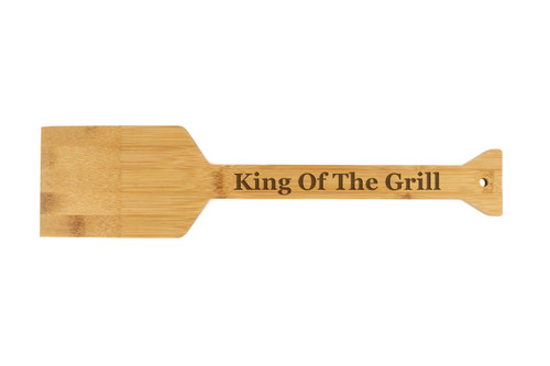 King Of The Grill, Grill Scraper Bamboo Wood Baum Designs