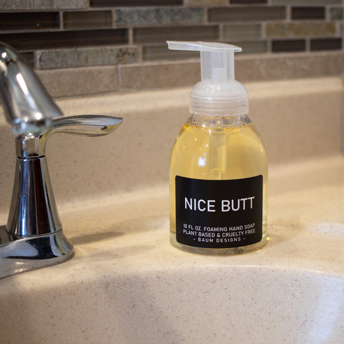 Nice Butt Foaming Hand Soap Baum Designs