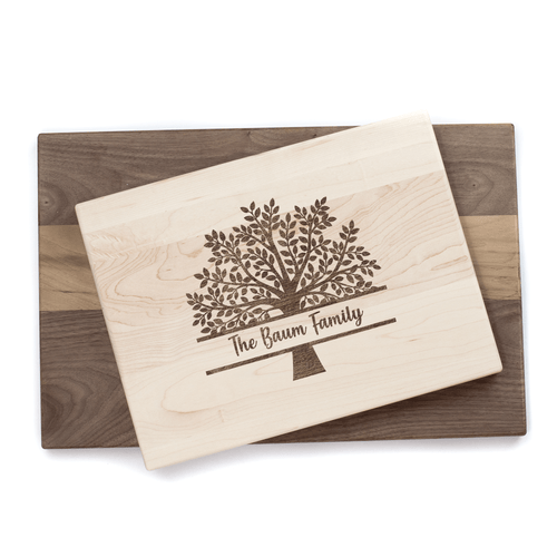 Personalized Family Tree Cutting Board Baum Designs