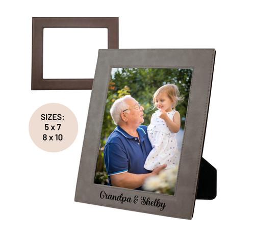 Grandparents Personalized Picture Frame Baum Designs