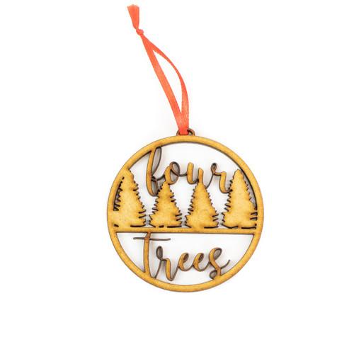 BULK Personalized Custom Wood Ornaments