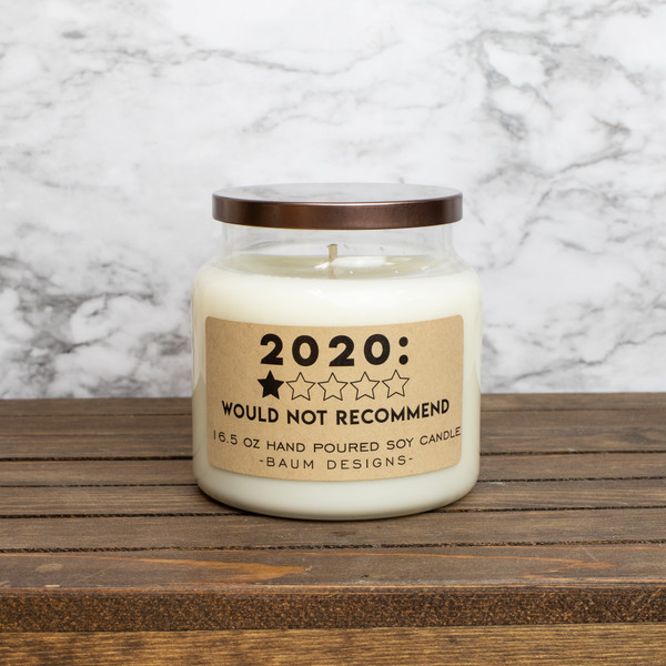 2020 1 Star Would Not Recommend Soy Candle