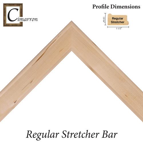 "Cimarron Regular 3/4"" Deep Canvas Stretcher Bar"