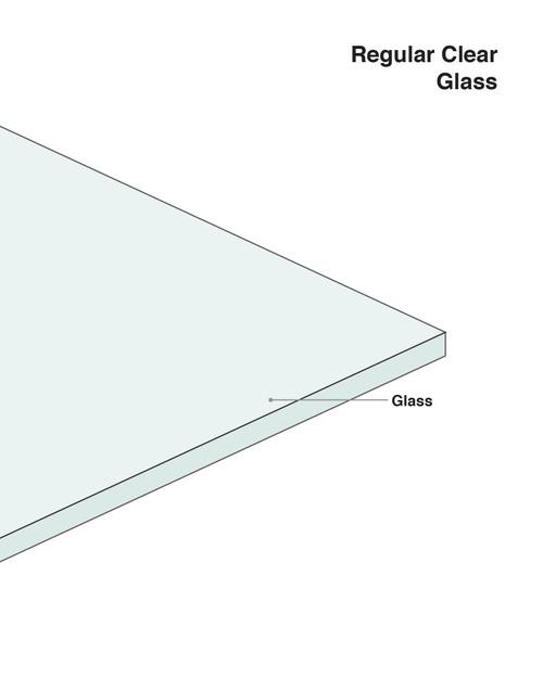 Regular Clear Glass