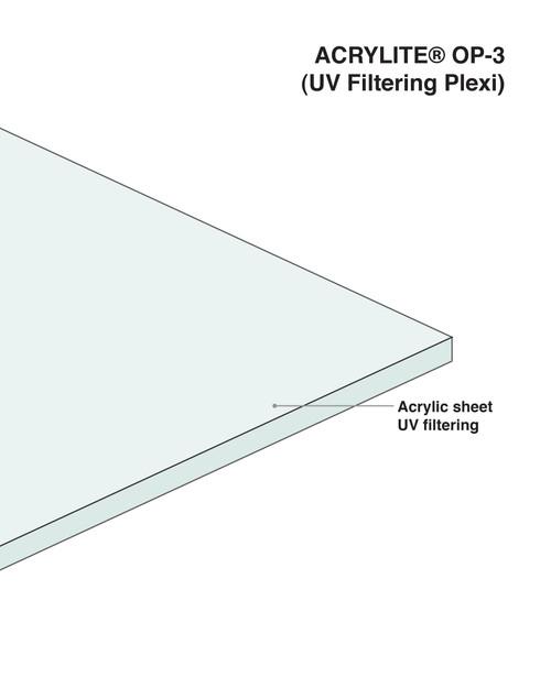 OP-3 Plexiglass Conservation Clear
