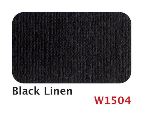 W1504 Black Linen