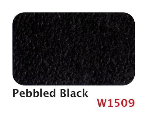W1509 Pebbled Black